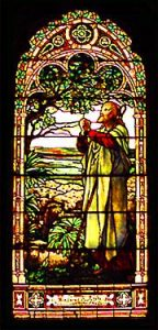 The Lord is My Shepherd, 1894 Louis C. Tiffany stained glass window